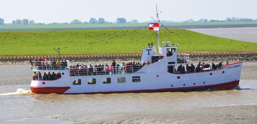 Die ETTA von Dangast und im nachfolgenden Bild der Kapitän