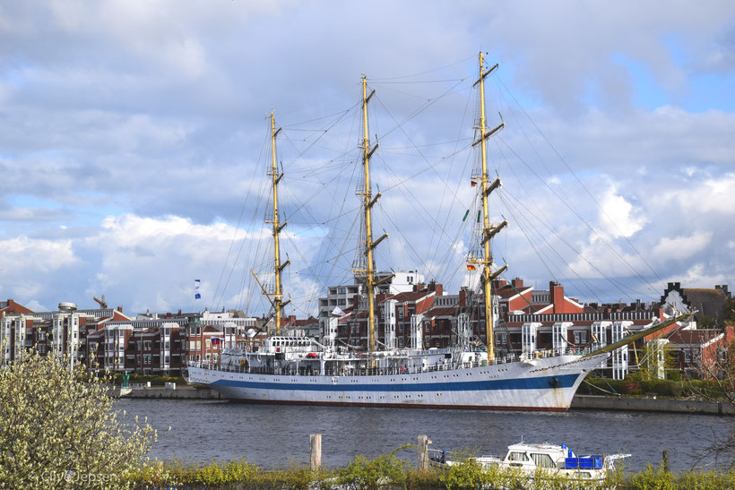 Die MIR in Wilhelmshaven zu Besuch