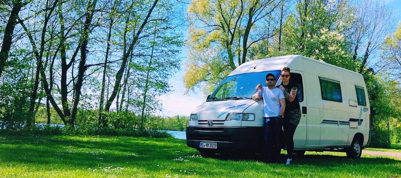 Vanlife, Peugeot, Peugeot Boxer, Wohnmobil, Womo, Zwei auf Achse, Backpacking, Deutschland, Rucksackreise, Camping, Poessl,