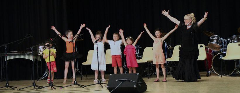 Ecole de Musique Selloise à Selles-sur-Cher - La fête de fin d'année avec tous les élèves et les professeurs