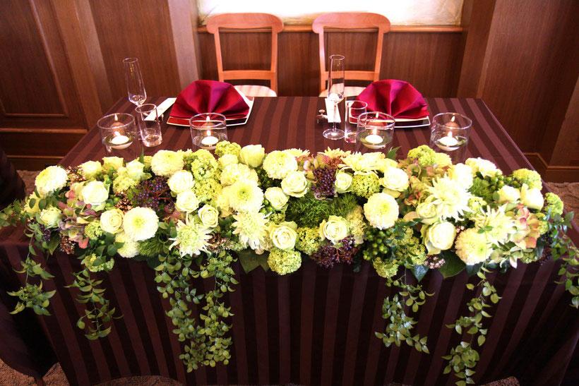 山梨県の小さな結婚式のプロデュース
