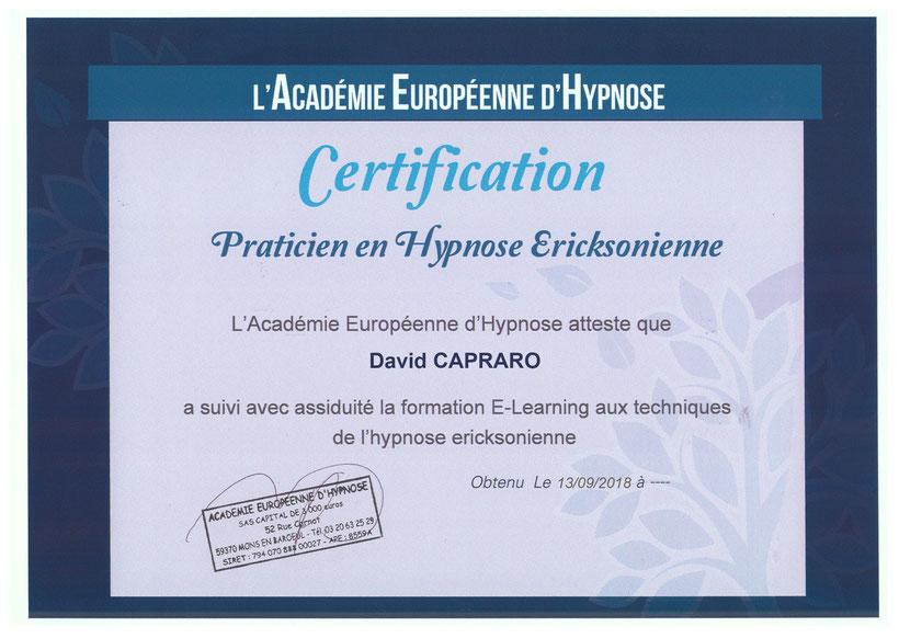 Patricien en Hypnose Ericksonienne dans l'Hérault 34