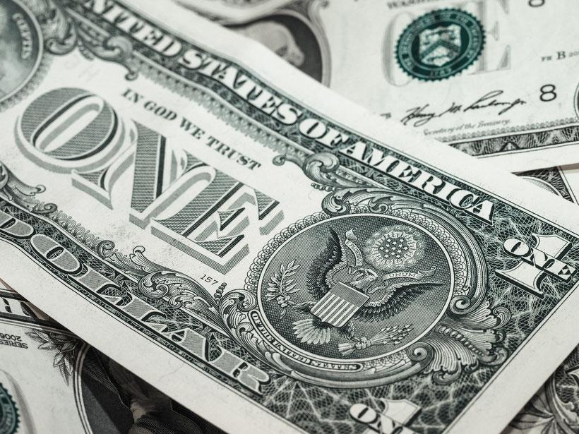 Travel Hacks USA-Reise: Umtauschkurstabelle fürs Portemonnaie