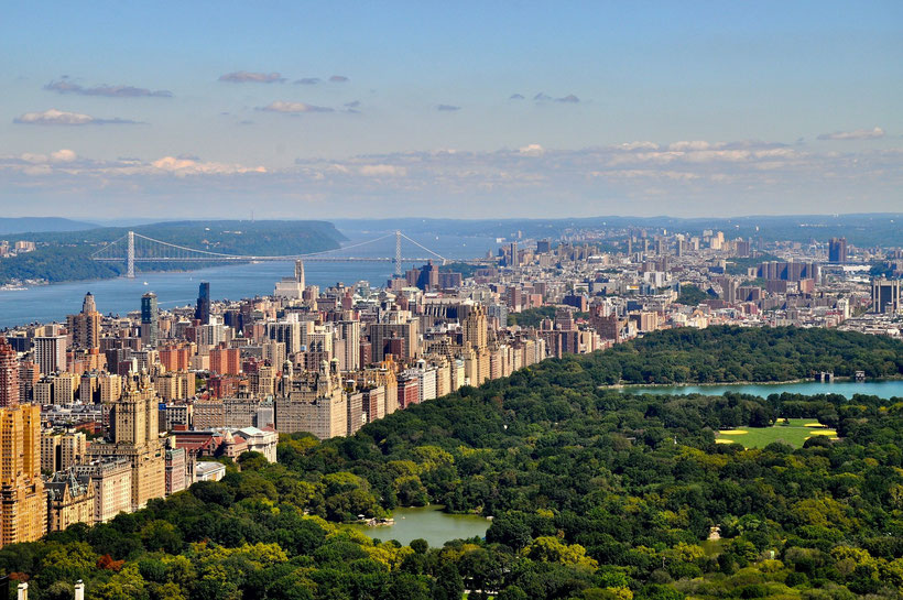 Die besten Sehenswürdigkeiten und Reisetipps für New York City. Central Park in New York.