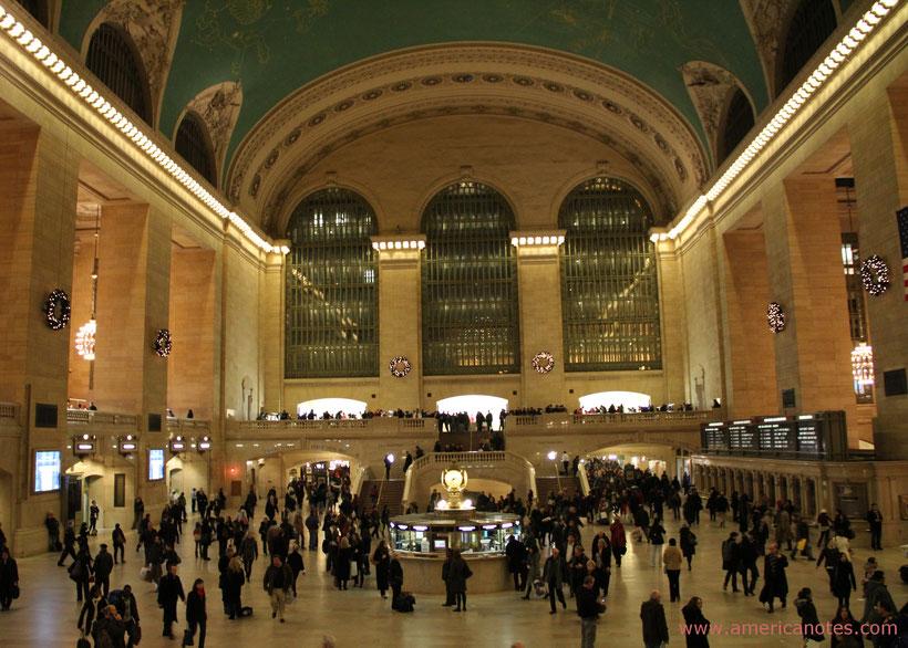 Die besten Sehenswürdigkeiten und Reisetipps für New York City. Grand Central Station in Manhattan.