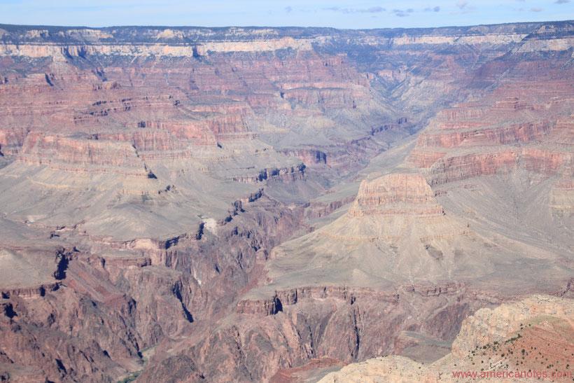 Die Nationalparks in den USA, Reisetipps und Informationen. South Rim des Grand Canyon.