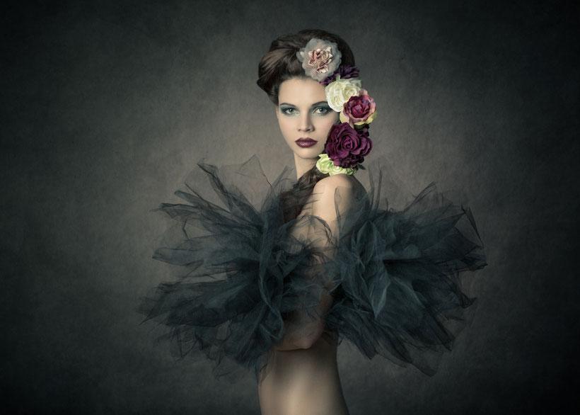 Bild entstand am letzten Fine Art Portrait Workshop in Wien © Michael Schnabl