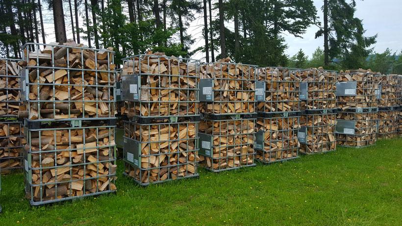 Brennholzlagerung Brennholz