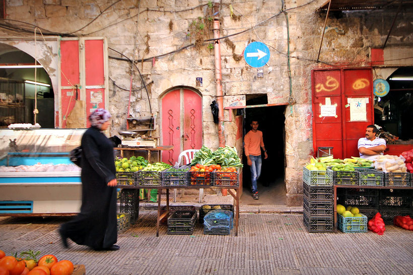 The Old City of Nablus... © Sabrina Iovino | JustOneWayTicket.com