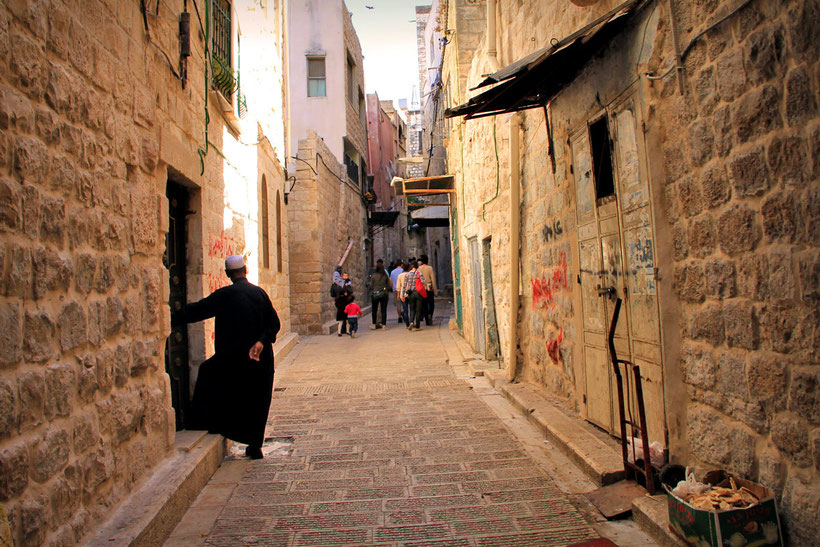 The ancient city Nablus, one of the oldest cities in the world. © Sabrina Iovino | JustOneWayTicket.com