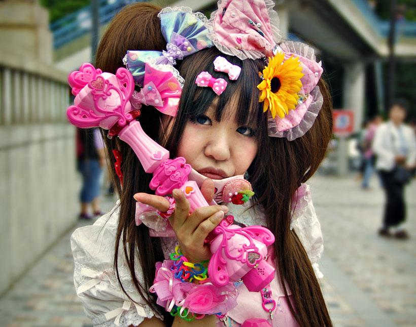 Lolita Girl in Harajuku, Tokyo. Japan 2013 © Sabrina Iovino | JustOneWayTicket.com