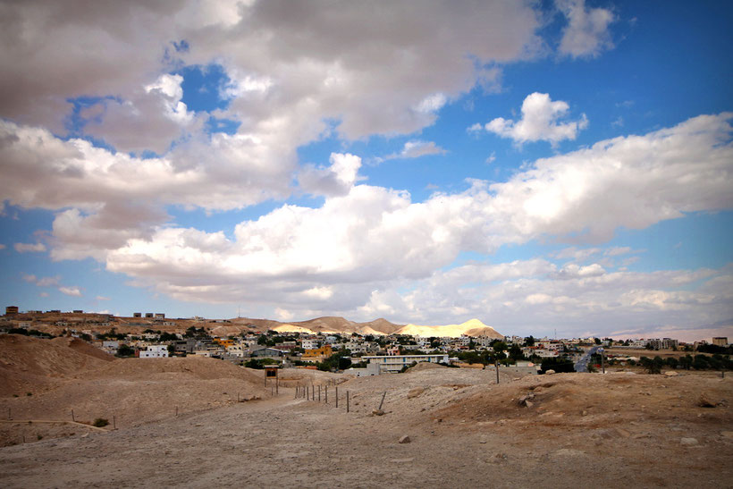 Jericho, the world's oldest city (10,000 years old) is the lowest place on earth, 1,300 feet below sea-level. © Sabrina Iovino | JustOneWayTicket.com