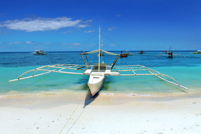 Alona Beach, Panglao Island, Bohol, Philippines 2013 © Sabrina Iovino | JustOneWayTicket.com