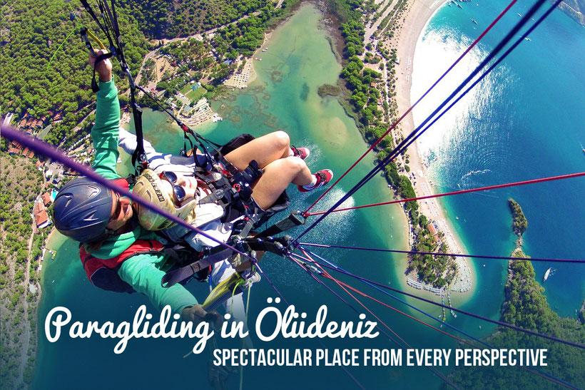 Paragliding in Ölüdeniz - Spectacular place from every perspective. Turkey 2013 © Sabrina Iovino | JustOneWayTicket.com