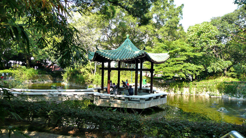 Kowloon Park - The green escape in Hong Kong! © Sabrina Iovino | JustOneWayTicket.com