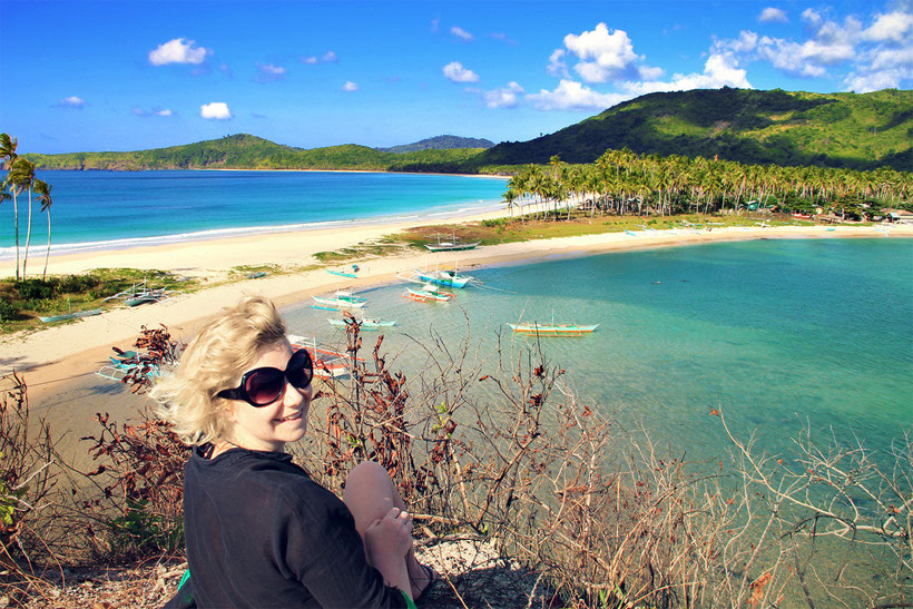 Calitang & Nacpan Beach near El Nido, Palawan   20 Photos of the Philippines that will make you want to pack your bags and travel © Sabrina Iovino   JustOneWayTicket.com