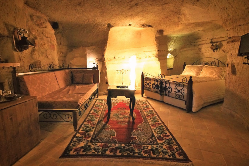 Hotel Review: Castle Inn, unique Arch and Cave Rooms in a Chateau in Cappadocia © Sabrina Iovino | JustOneWayTicket.com