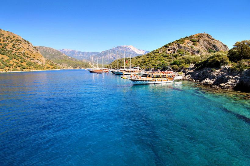 St. Nicholas Island, near Ölüdeniz, Turkey 2013 © Sabrina Iovino | JustOneWayTicket.com