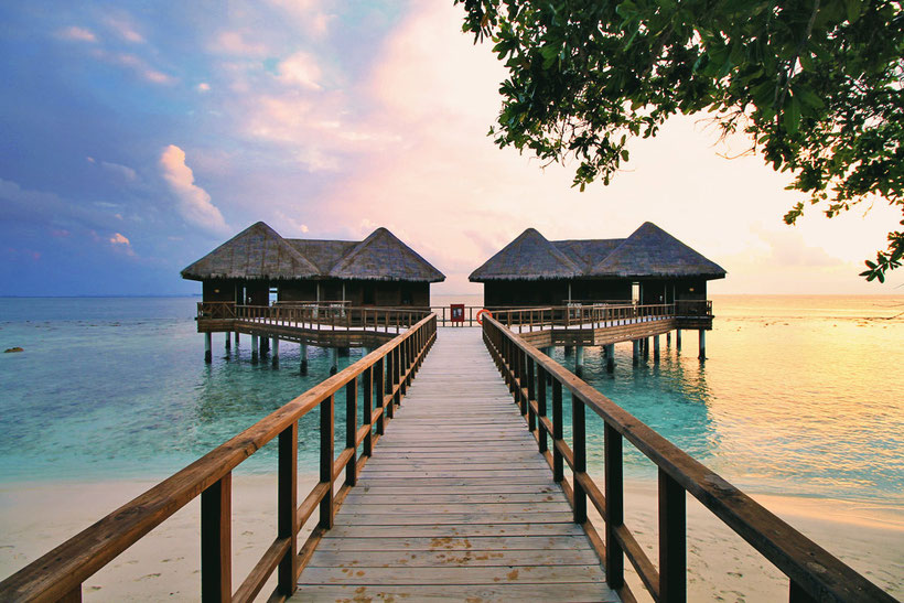 Water Villa at Bandos Island - That one time I got invited to the Maldives © Sabrina Iovino | via @Just1WayTicket