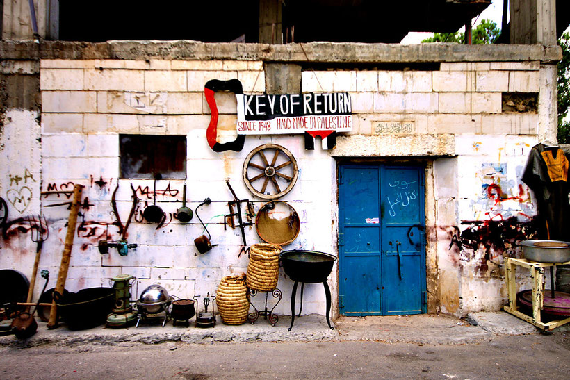 Ayda, a Palestinian Refugee Camp near Bethlehem. © Sabrina Iovino | JustOneWayTicket.com