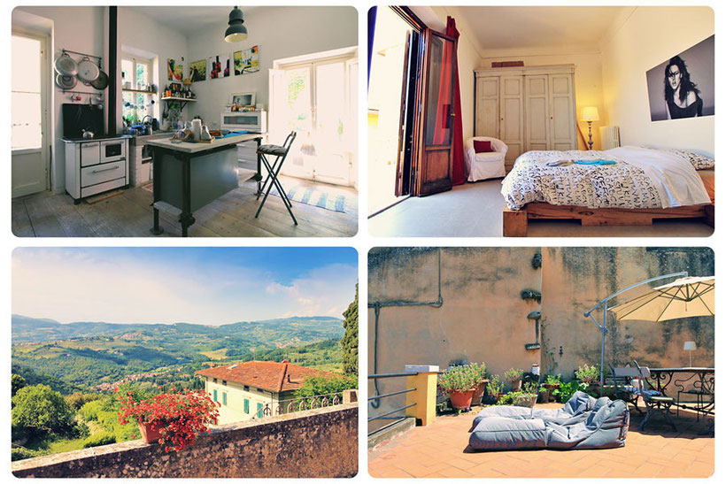 My Airbnb Stay in Fiesole (Florence) | Plus How to Travel Italy by Train - A First-Timer's Guide incl. things to do and places to stay | via @Just1WayTicket