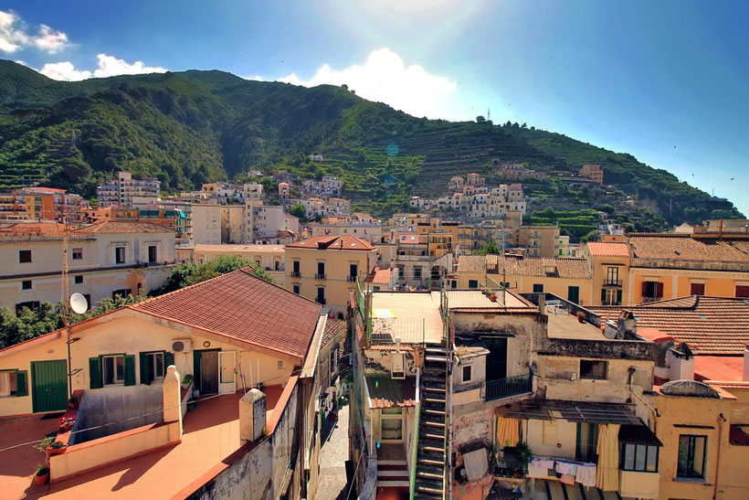 Maiori | Amalfi Coast & Cilento Coast - 7 Pretty Seaside Towns You Must Visit In South Italy | Photo: Sabrina Iovino via @Just1WayTicket