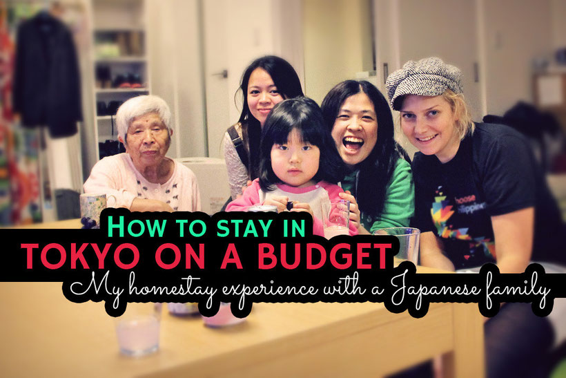 How to stay in Tokyo on a budget - My Homestay experience with a Japanese Family © Sabrina Iovino | JustOneWayTicket.com