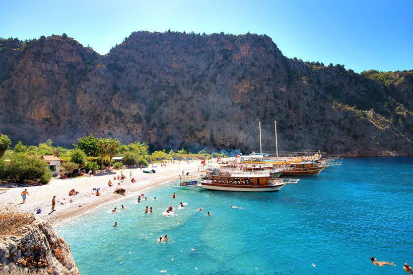 The beautiful Butterfly Valley, Ölüdeniz, Turkey 2013 © Sabrina Iovino | JustOneWayTicket.com
