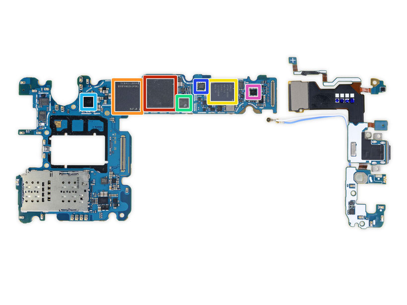 Samsung, S9 Galaxy Schematics