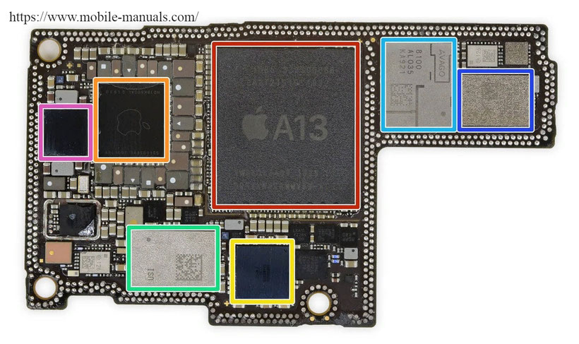 iphone-11-pro-max schematics