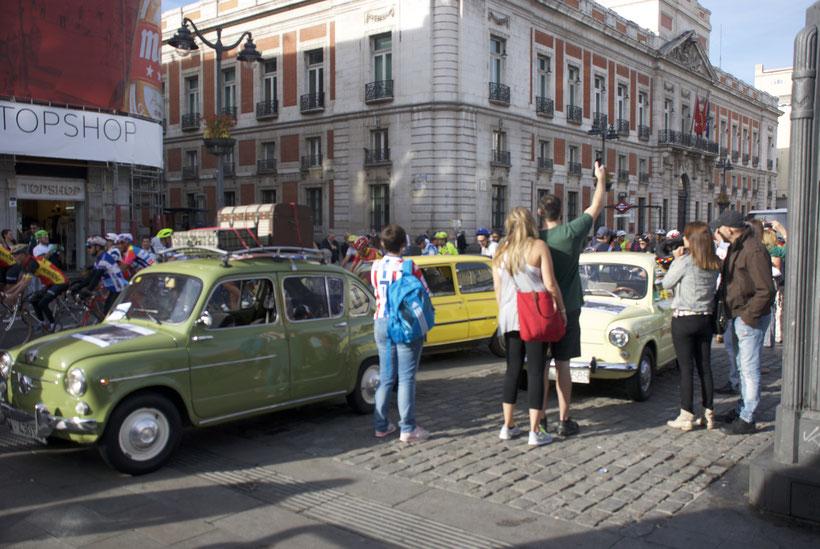 bicicletas clásicas Otero Puerta del Sol