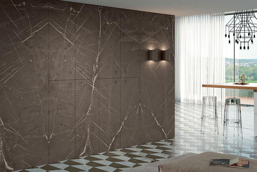 Wandgestaltung mit Naturstein von Devon & Devon