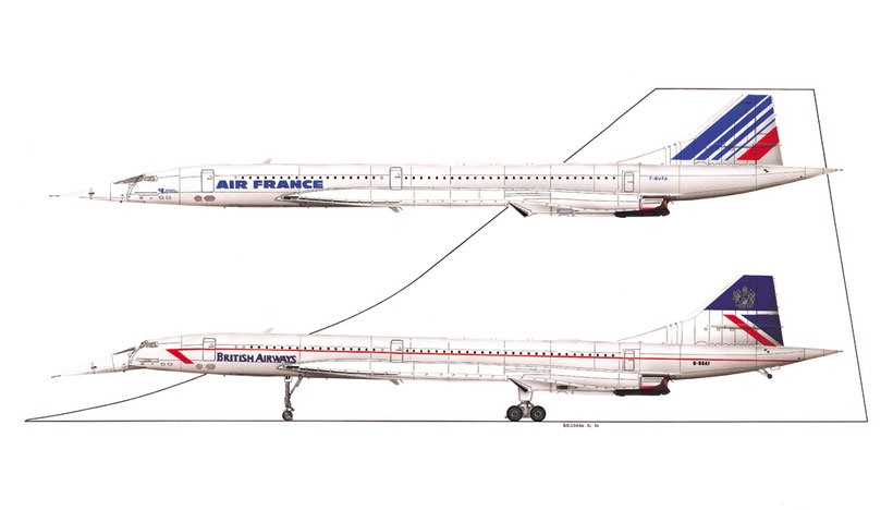 concorde air france and british airways