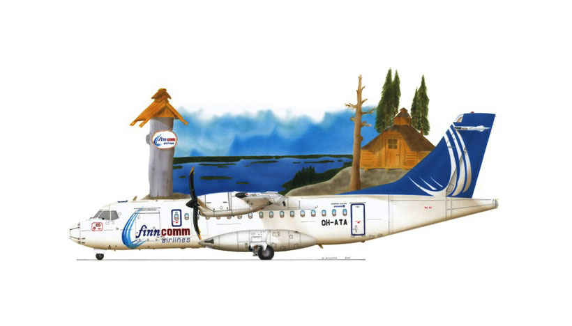 ATR 42-500 Finncomm Airlines