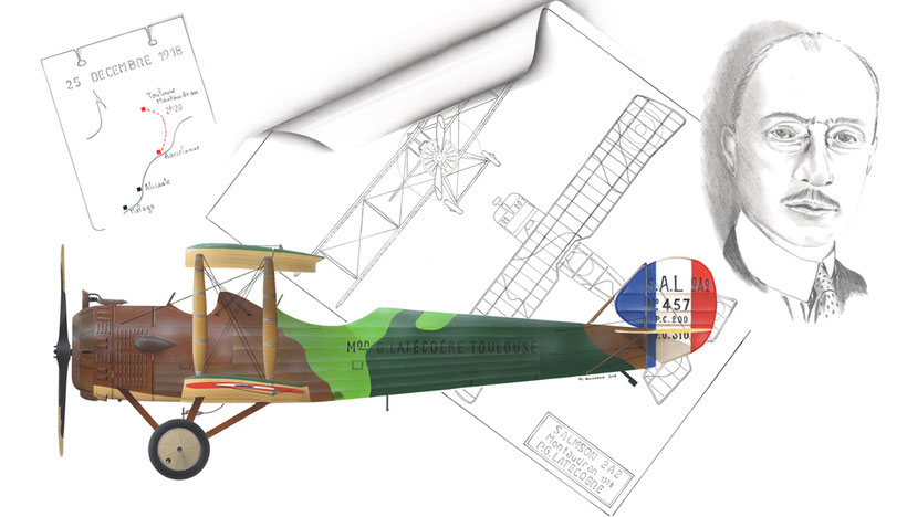 salmson 2a2 pierre georges latecoere