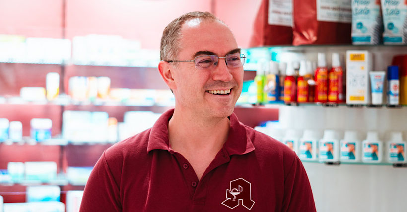 Michael Eick, Apotheker