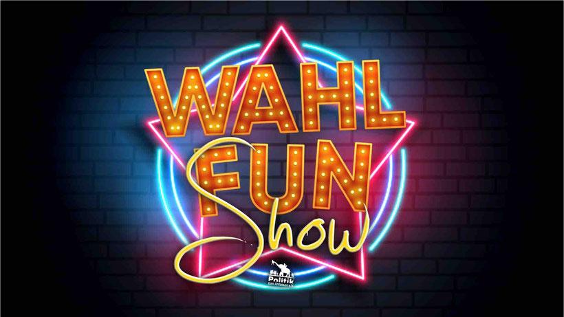 WahlFUN-Show - Die Wissens-Spielshow zur Wahl - Logo