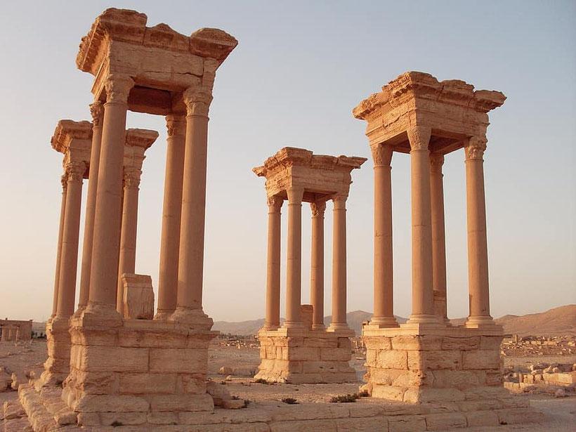 Palmira, Sira, simbolo di un caos che non ha risparmiato cultura e umanità