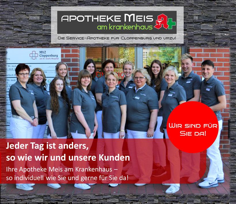 Mitarbeiter / Team Apotheke Meis am Krankenhaus Cloppenburg