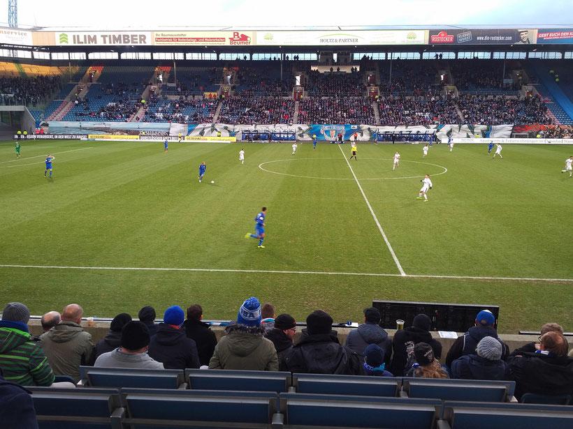 20. Spieltag, 16.12.2017 FC Hansa Rostock - Sportfreunde Lotte 0:3 (0:1)