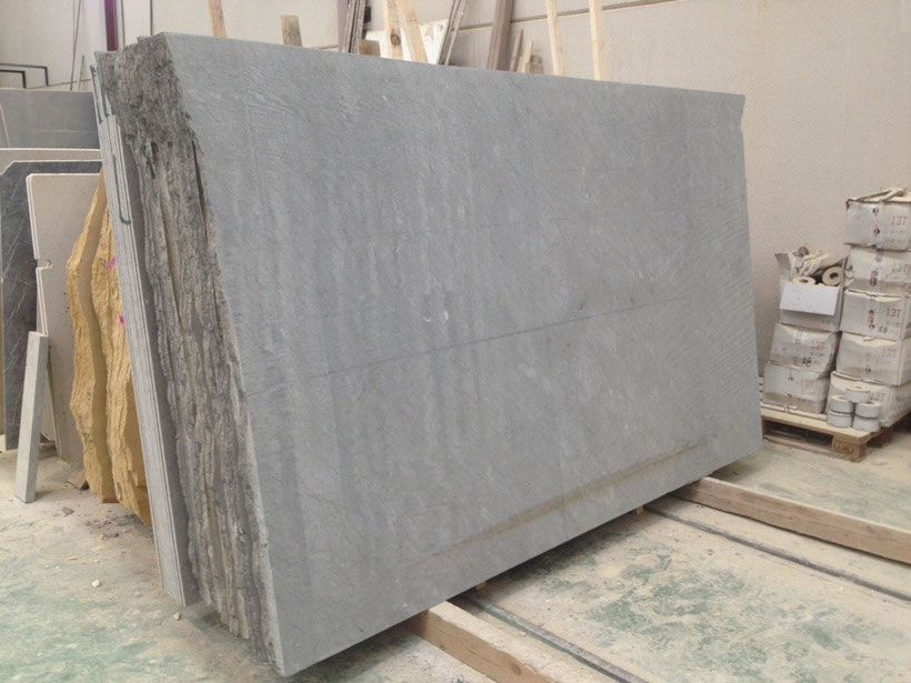 Sawn cut slab