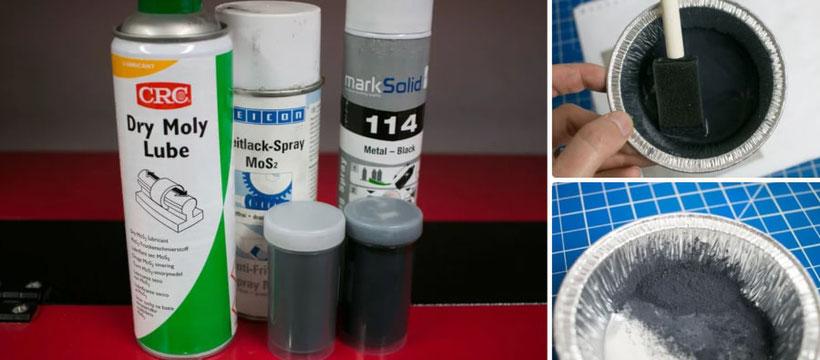Quimicos para grabado de metal con laser CO2