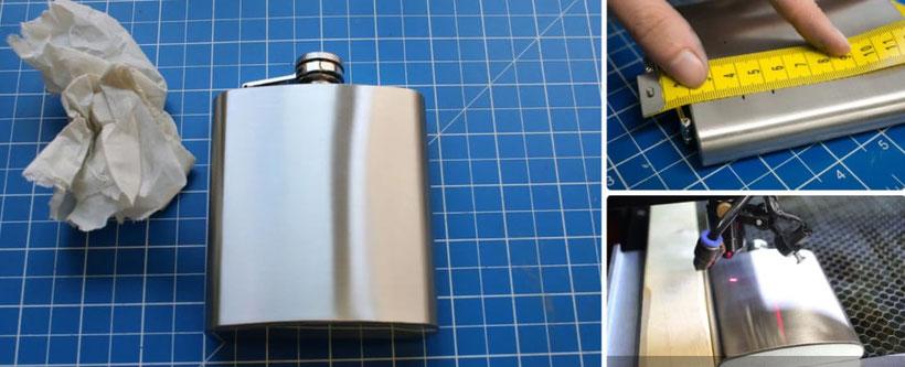 Como grabar aceros con maquina laser CO2?
