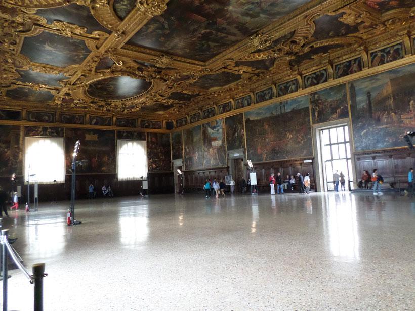 Intérieur du Palais des Doges