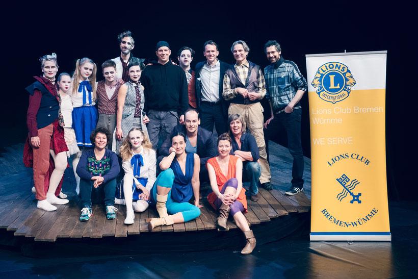 Lions Club Bremen-Wümme spendet 2.000 Euro für tanzbar_bremen
