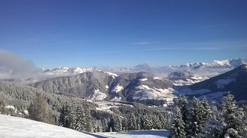 Winterzauber in der Wildschönau in den Kitzbüheler Alpen