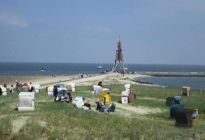cuxhaven urlaub am Sandstrand in gesunder Luft und Ruhe, Schifffahrt beobachten, Seeschifffahrtsweg, Weltschifffahrtsweg Elbe
