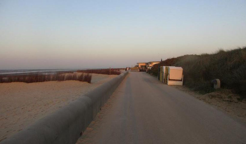 lange Wanderwege, lange Spazierwege in Cuxhaven an der Nordsee