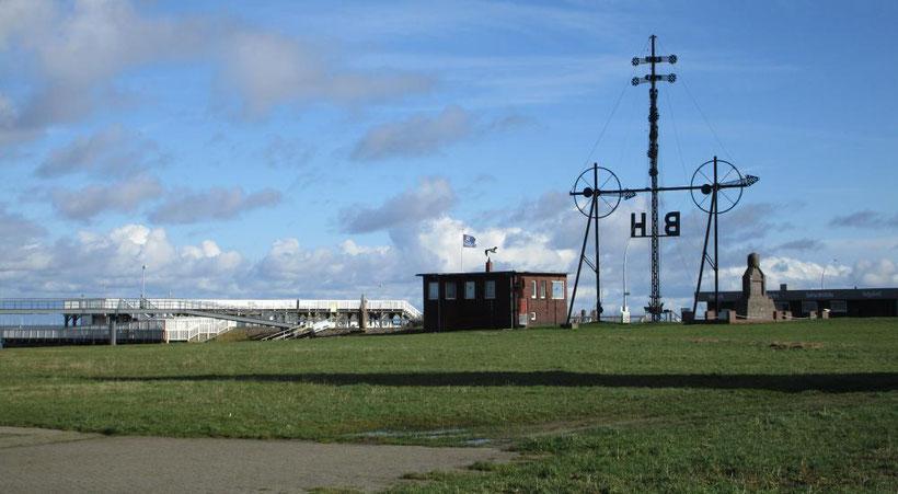 Alte Liebe und Windsemaphor (technisches Denkmal), die letzte Anlage im Originalzustand in Europa