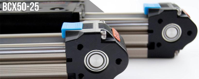 linear actuator, slider linear guide, belt drive